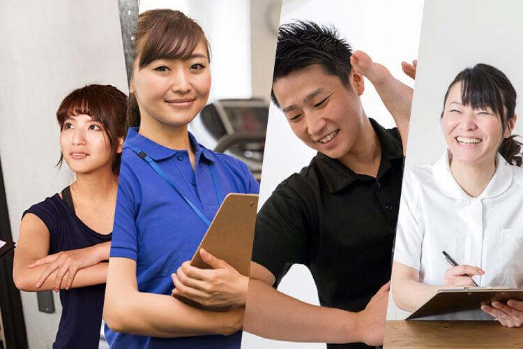 大阪のパーソナルトレーナースクールWOLFの選べる4コース