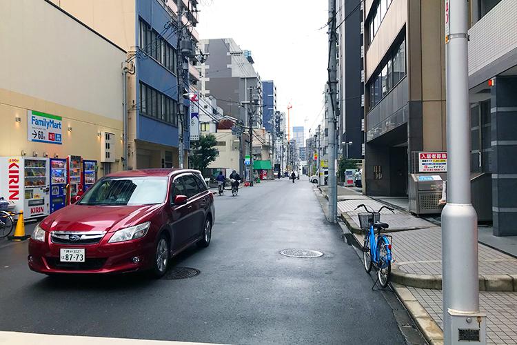 大阪 堺筋を右折