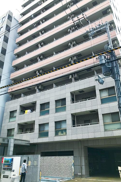 大阪市中央区博労町にあるマンション セントラル南船場